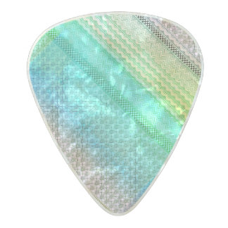 Nordic Boho Bohemian Tribal Unique Aztec Pearl Celluloid Guitar Pick