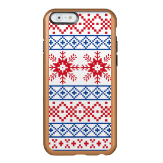 Nordic Christmas Snowflake Borders Incipio Feather® Shine iPhone 6 Case