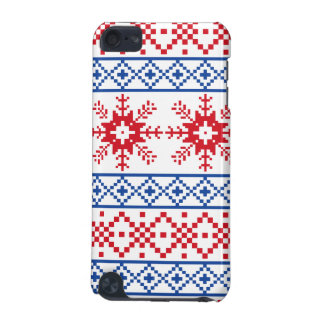 Nordic Christmas Snowflake Borders iPod Touch 5G Case