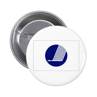 Nordic Council Flag Pinback Buttons