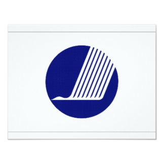 Nordic Council Flag Personalized Invite