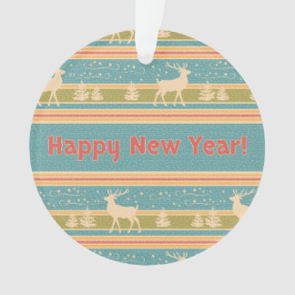 Nordic Ethnic New Year pattern Ornament