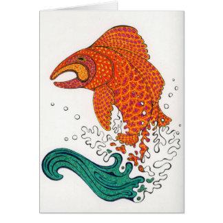 Nordic Fish Notecard