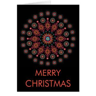 NORDIC FOLKSY CHRISTMAS CARD