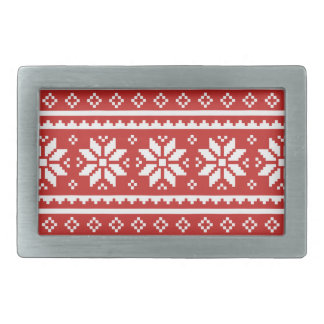 Nordic pattern belt buckle for Santa Claus outfit