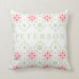 Nordic Pattern Holiday Decorative Pillow