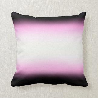 Nordic Pink Black|Pink|White Cushion