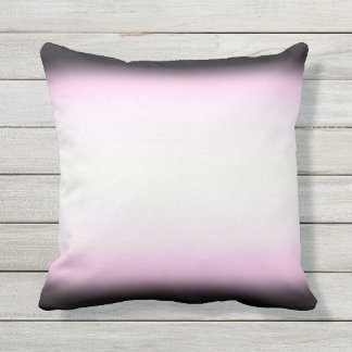 Nordic Pink Black|Pink|White Cushion