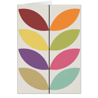 Nordic Style Motifs Card
