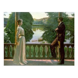 Nordic Summer Evening, 1899-1900 Postcard