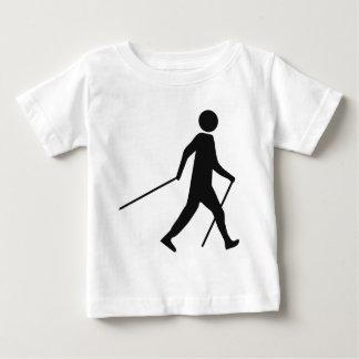 nordic walking icon baby T-Shirt