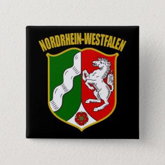 Nordrhein-Westfalen COA 15 Cm Square Badge