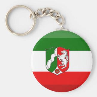 Nordrhein-Westfalen Flag Gem Keychains