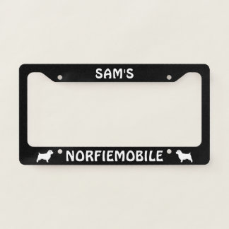 Norfiemobile Norfolk Terrier Silhouettes Custom
