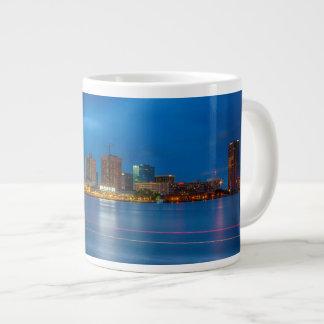 Norfolk City Skyline Large Coffee Mug