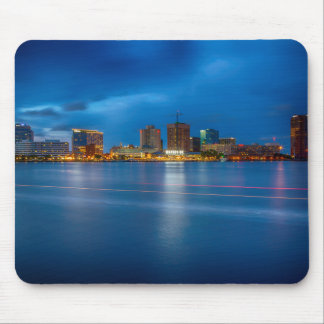 Norfolk City Skyline Mouse Pad