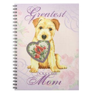 Norfolk Heart Mom Notebook