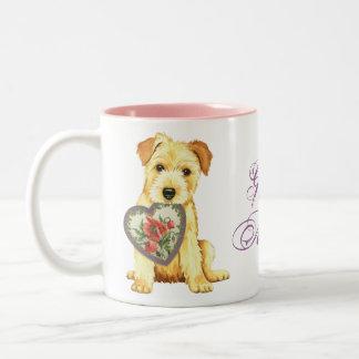 Norfolk Heart Mom Two-Tone Coffee Mug