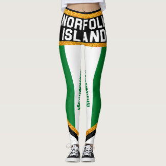Norfolk Island Flag Leggings