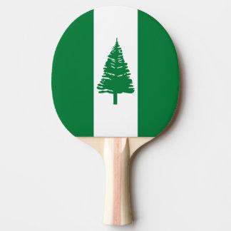 Norfolk Island Flag Ping Pong Paddle
