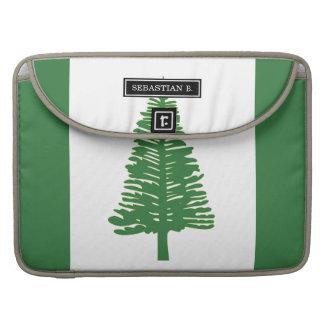 Norfolk Island Flag Sleeves For MacBooks
