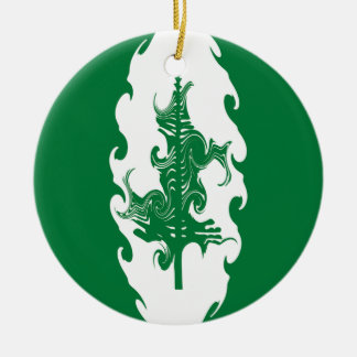 Norfolk Island Gnarly Flag Ornament