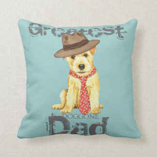 Norfolk Terrier Dad Cushion