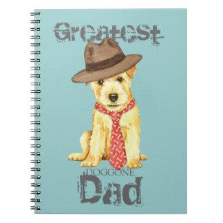 Norfolk Terrier Dad Notebook