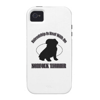 NORFOLK TERRIER DOG DESIGNS Case-Mate iPhone 4 COVER
