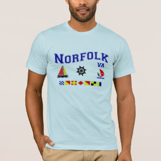 Norfolk VA Signal Flags T-Shirt