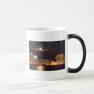 Norfolk,VA Skyline Magic Mug