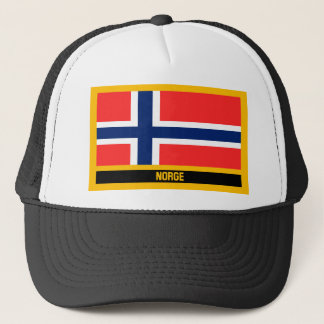 Norge Flag Trucker Hat