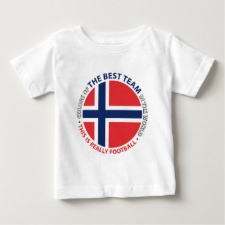 Norge Norway Art Shield Baby T-Shirt