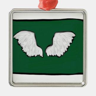 Norht Dakota Tough Wings Metal Ornament