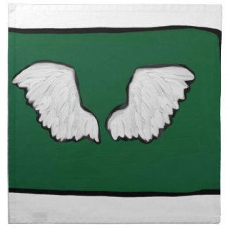 Norht Dakota Tough Wings Napkin