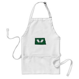 Norht Dakota Tough Wings Standard Apron