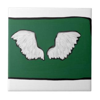 Norht Dakota Tough Wings Tile