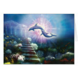 Nori Dolphins Greeting Card