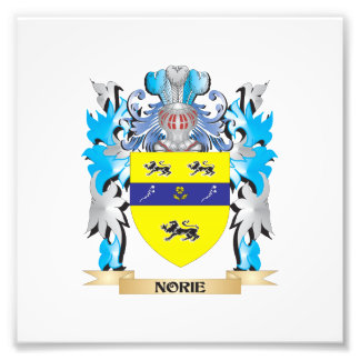 Norie Coat of Arms - Family Crest Photo Art
