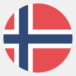 norieguian Flag Classic Round Sticker