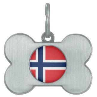 norieguian Flag Pet Tag