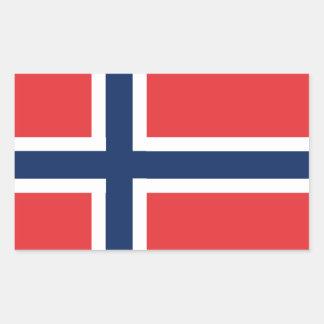 norieguian Flag Rectangular Sticker