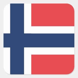 norieguian Flag Square Sticker