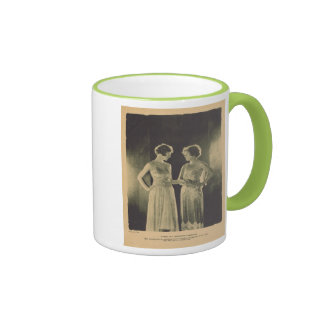 Norma and Constance Talmadge 1922 vintage portrait Ringer Mug