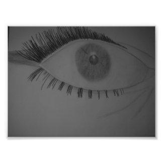 Norma Eye Photo Print