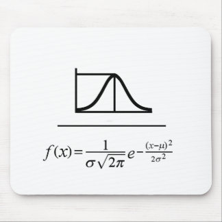 Normal Distribution Mouse Pad