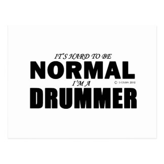 Normal Drummer Postcard
