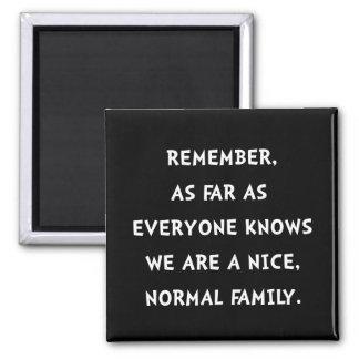 Normal Family Square Magnet