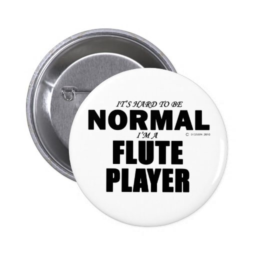 Normal Flute Player Pins