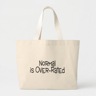 Normal Is Over Rated Jumbo Tote Bag